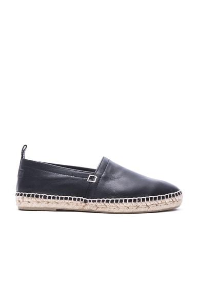 Leather Espadrilles