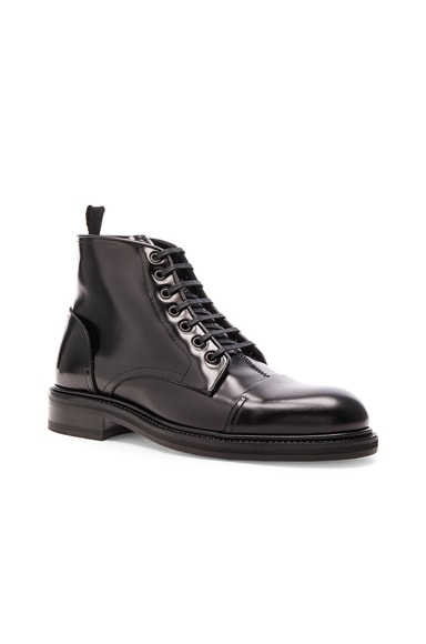 Loewe Oxford Ankle Boots in Black