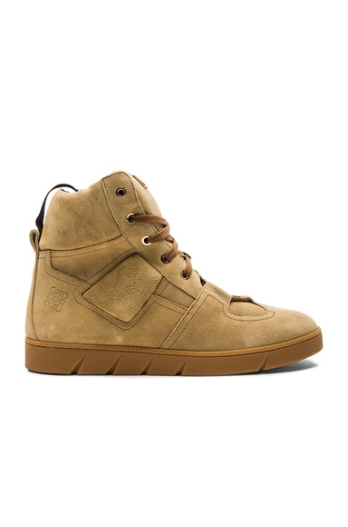 Suede High Sneakers