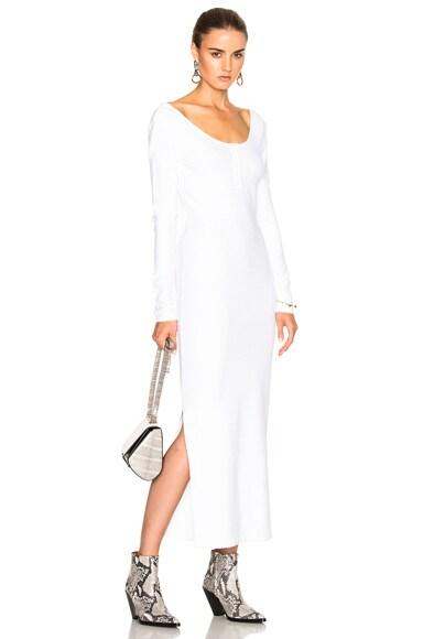 Loewe Maxi Dress in White