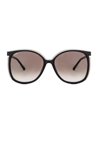 Loewe Vedra Sunglasses in Black & Grey