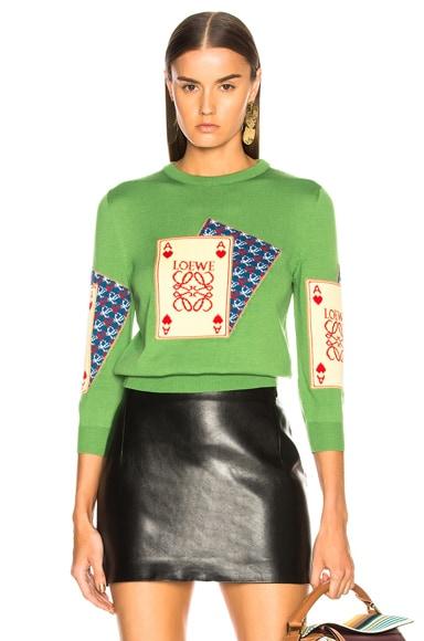 Playing Card Sweater