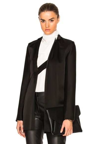 Loewe Satin Jacket in Black