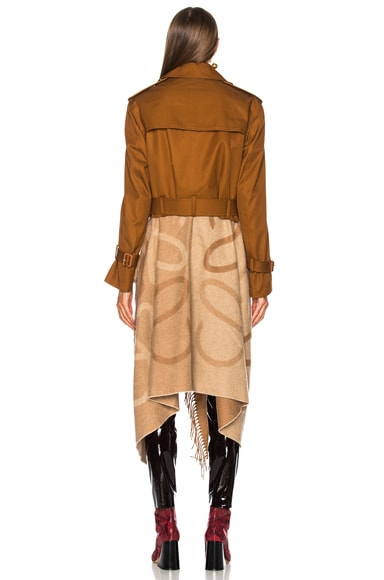 Blanket Trench Coat