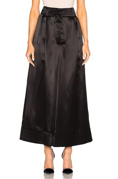 Loewe Extra Wide Trousers in Black