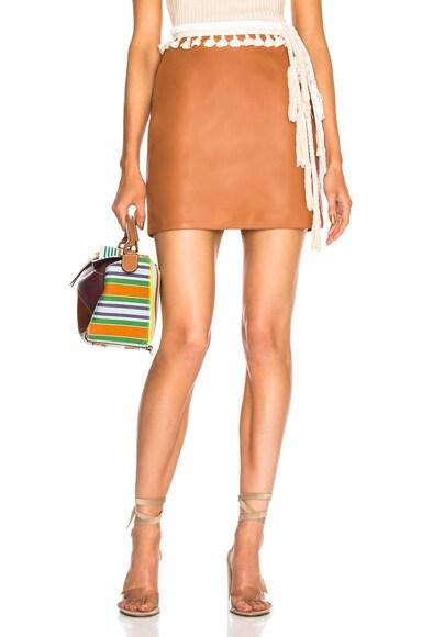 Rope Belt Skirt