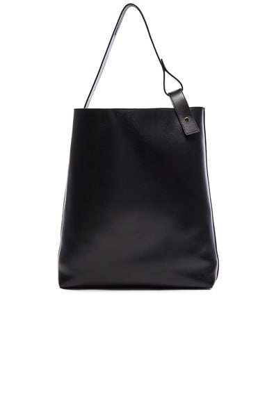 Loewe Asymmetric Large Bag in Black