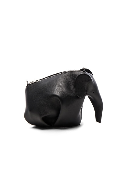 Loewe Elephant Mini Bag in Black