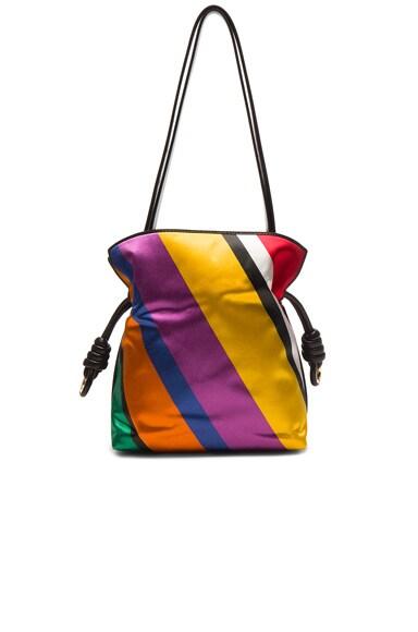 Flamenco Knot Small Stripe Bag
