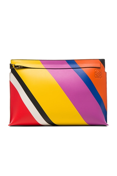 Loewe T Pouch in Multicolor