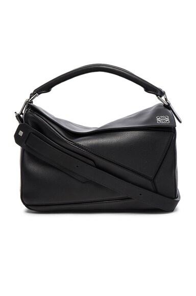 Loewe Puzzle Bag in Black
