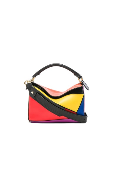 Loewe Puzzle Small Bag in Multicolor