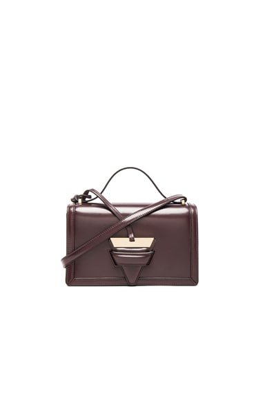 Loewe Barcelona Shoulder Bag in Burgundy