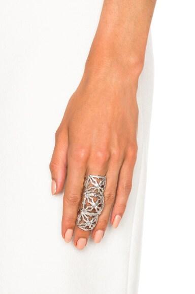 Triple Queen's Maltese Ring