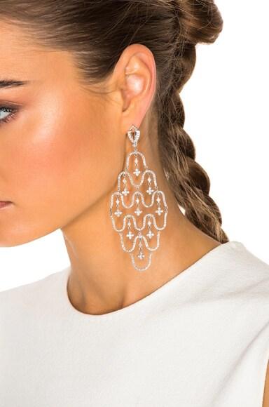 Wave Chandelier Earrings