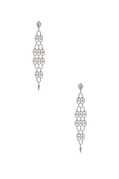 Loree Rodkin Polina Earrings in Silver