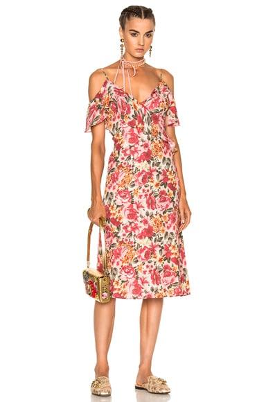 LPA Dress 137 in Vintage Rose