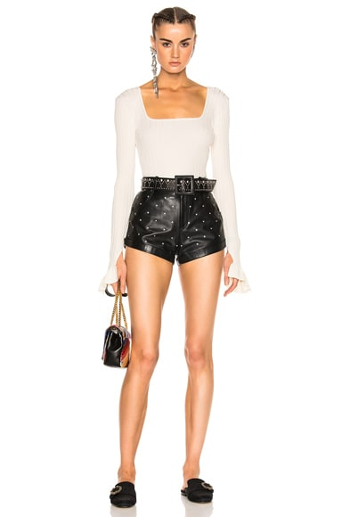 Leather Short 227