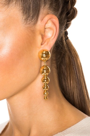 for FWRD Drop Sphere Earrings