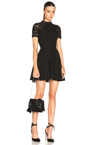 Lover Oasis Mini Dress in Black
