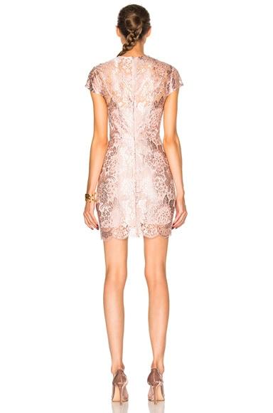 Opium Fitted Mini Dress