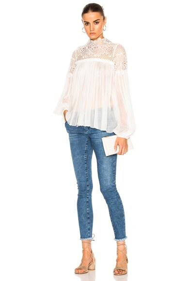 Camelia Silk Blouse