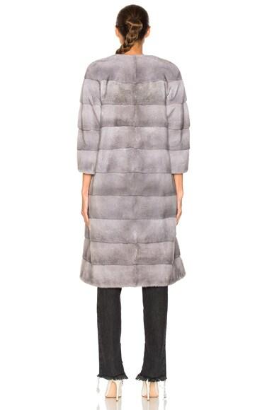 Sarah Mink Long Coat