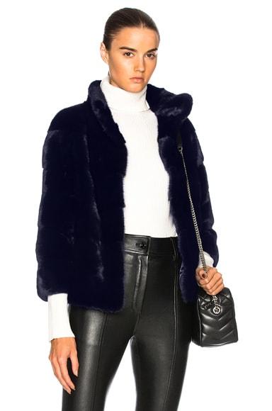 Rosie Mink Coat