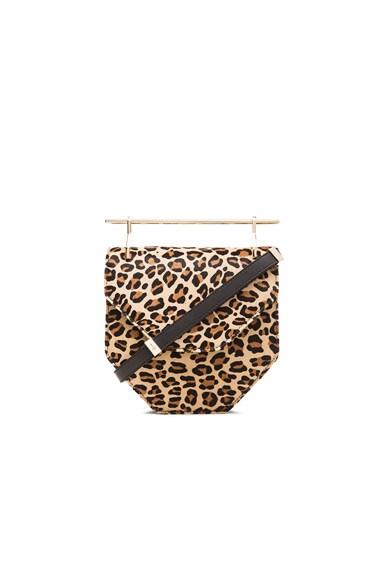 M2Malletier Amor Fati Bag in Leopard Pony