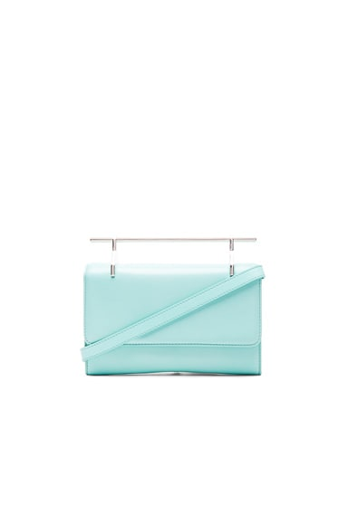 M2Malletier Fabricca Bag in Pastel Turquoise