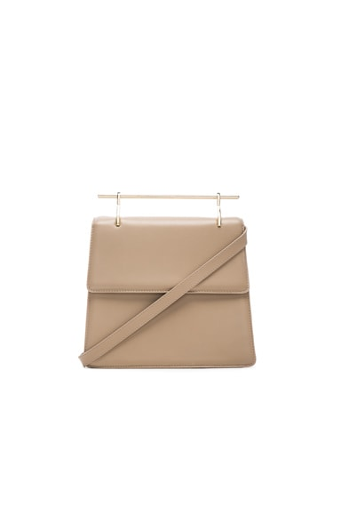 M2Malletier La Collectionneuse Bag in Caramel