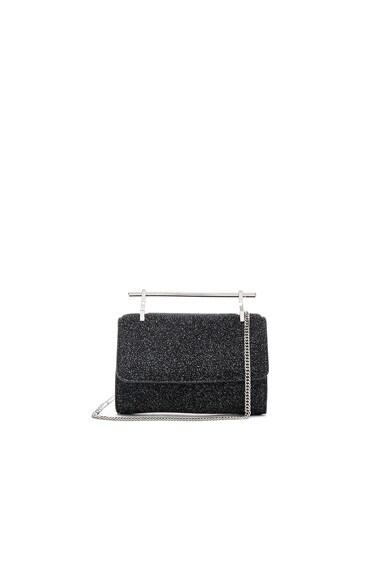 M2Malletier Mini Fabricca Bag in Cosmic Black