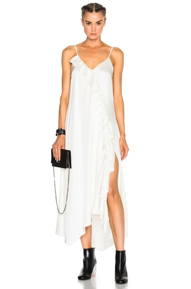 Magda Butrym FWRD Exclusive Treviso Dress in White