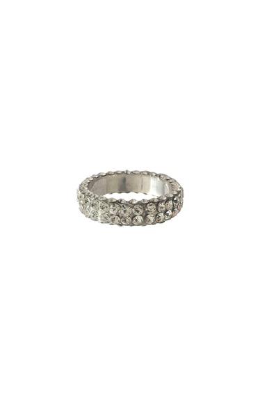 Magda Butrym Medium Zirconia Ring in Silver & Zirconia