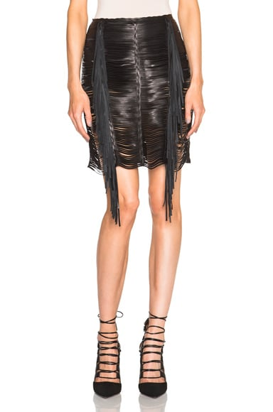 Magda Butrym Chicago Skirt in Black