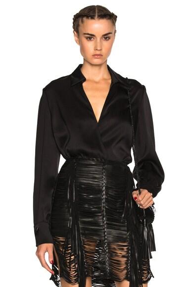 Magda Butrym Vienna Top in Black