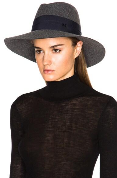 Bandage Fur Felt Kate Hat