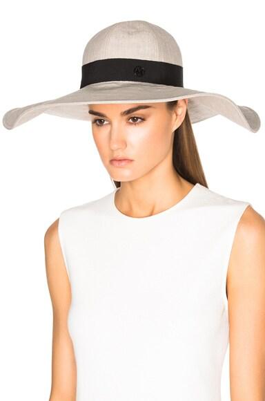 Lucia Wavy Large Brim Hat