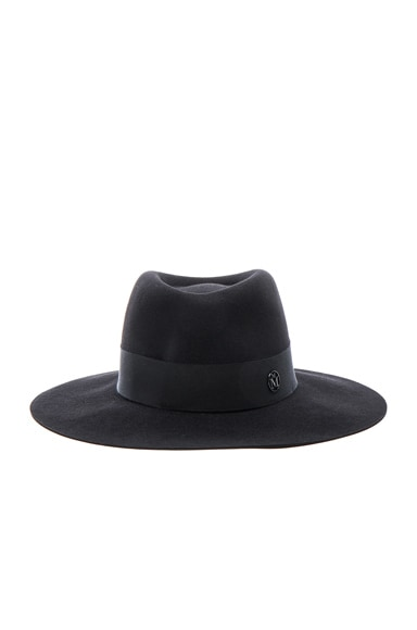 Maison Michel Charles Hat in Black
