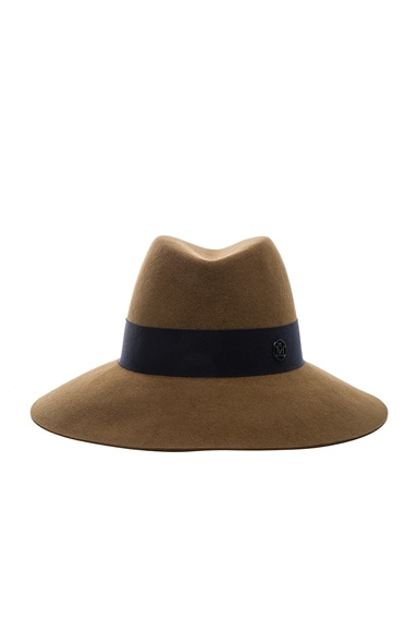 Maison Michel Kate Hat in Camel