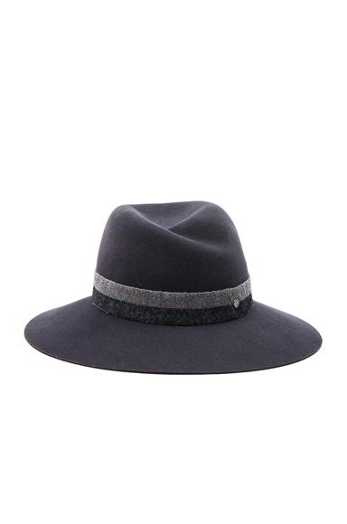 Maison Michel Virginie Hat in Dirty Grey