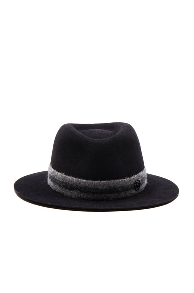 Maison Michel Andre Hat in Wet Navy