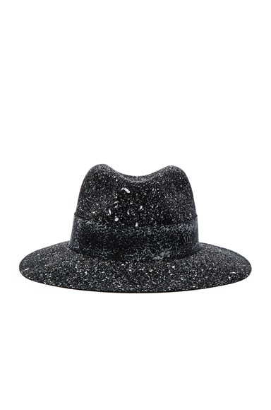 Maison Michel Henrietta Hat in Black