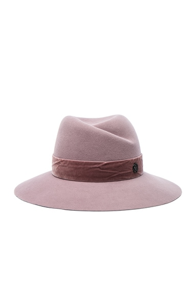 Virginie Hat with Velvet