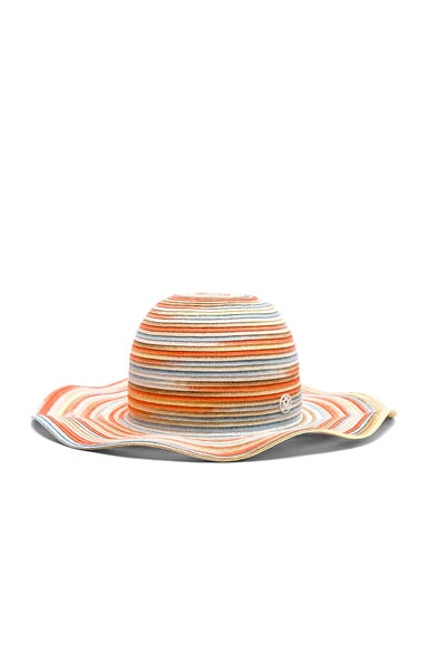 for FWRD Short Capeline Paper Straw Hat