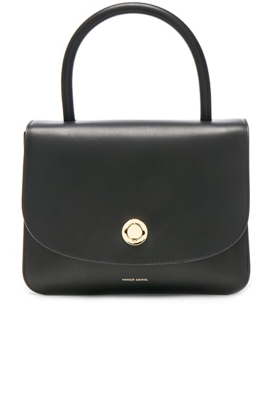 Mansur Gavriel Metropolitan Bag in Black Vegetable Tanned