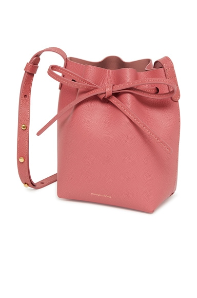 Saffiano Mini Mini Bucket Bag