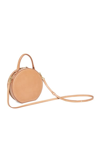 Vegetable Tanned Circle Crossbody
