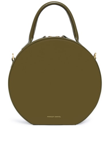 Calf Circle Crossbody