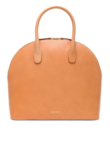 Top Handle Rounded Bag